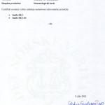 Certyfikat zgodności 2/2
